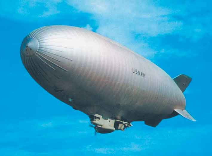 Airship of the ZPG-2N blimp class.